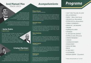 Triptico Concierto Jose Manuel Mas2 (28-06-2015)