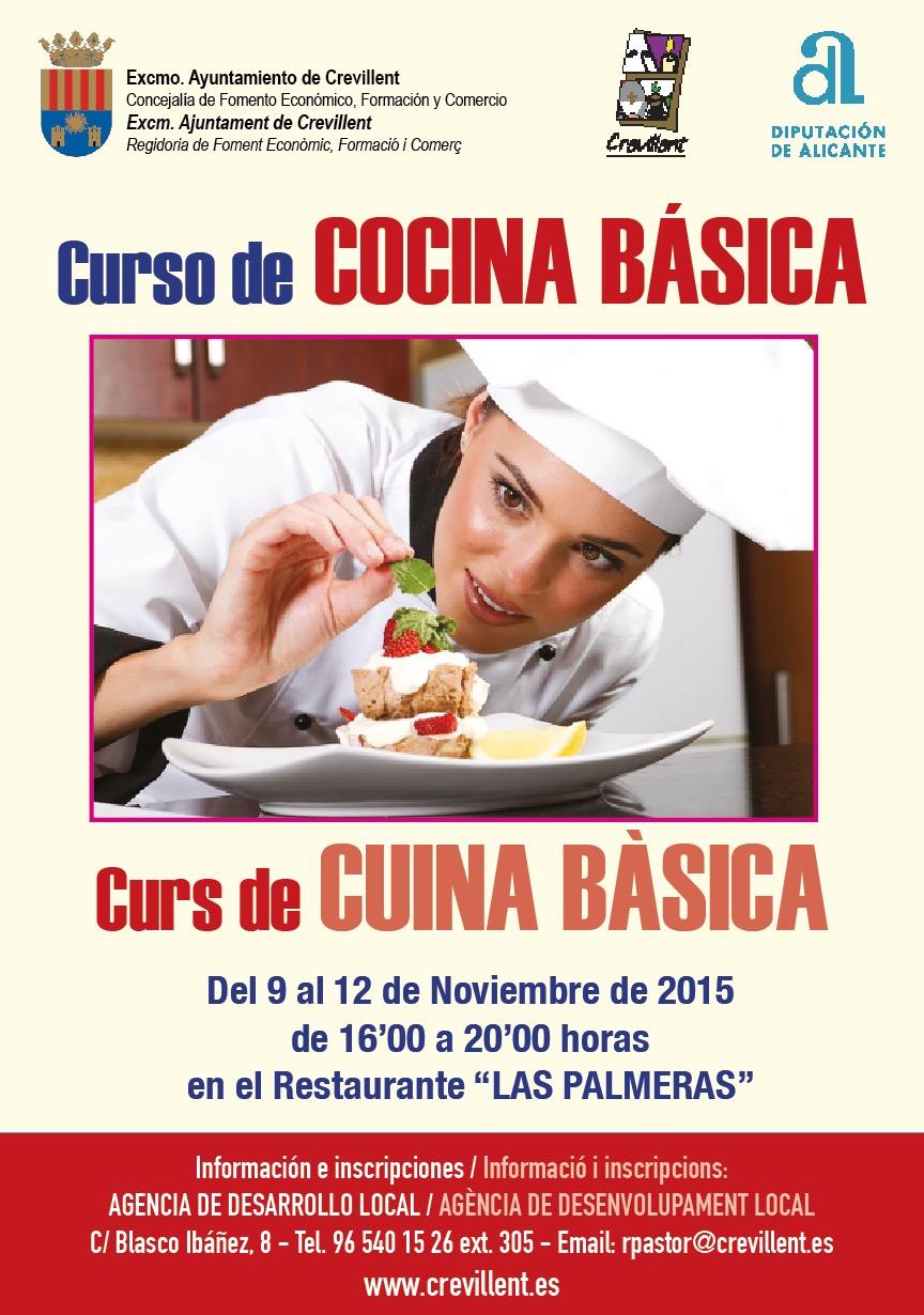 Fomento Organiza Un Curso De Cocina Basica Gratuito Dirigido A
